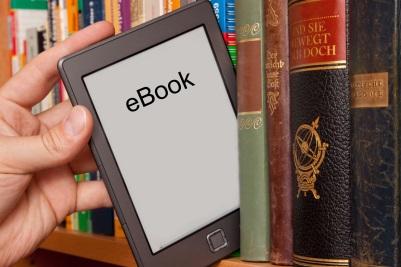 eBook-Reader sind in der Bücherei ausleihbar